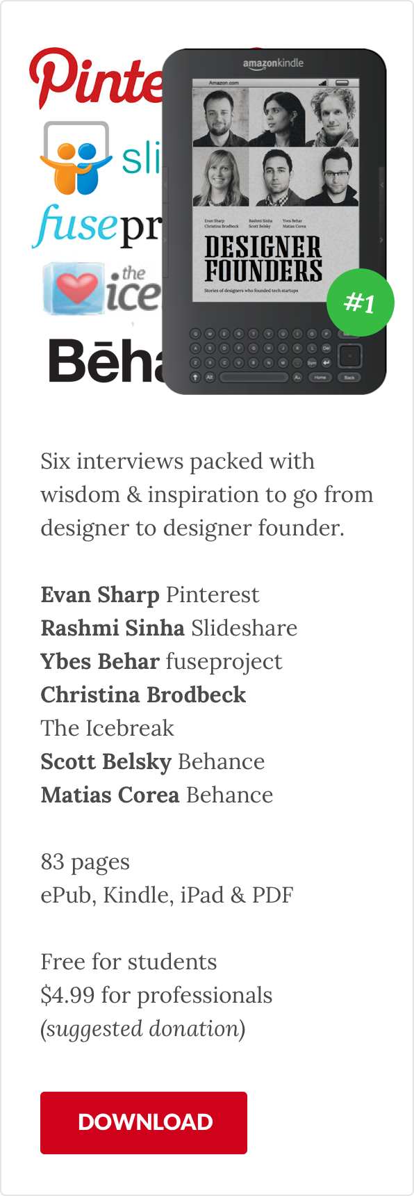 Designer Founders: Exploring the path designers take to ...
